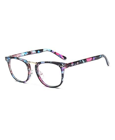 78a3695e33 Gafas unisex, gafas retro con estilo vintage con ojo estilo gato, lentes gafas  nerd retro: Amazon.es: Ropa y accesorios