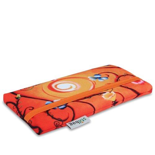 Stilbag Etui 'MIKA' pour Apple iPhone 4/4S - Dessin: Sun Blossoms