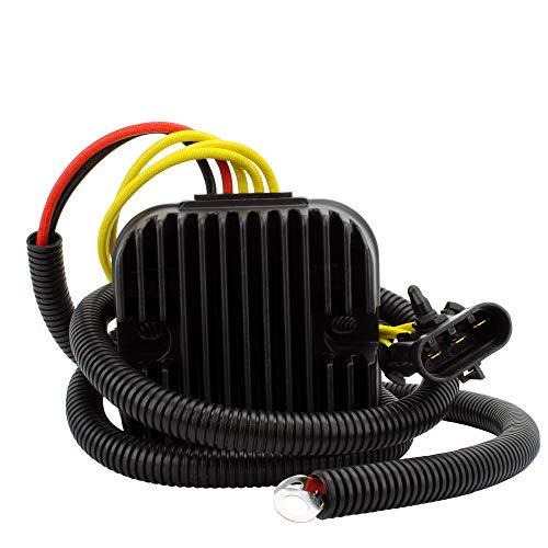Mosfet Voltage Regulator Rectifier For Polaris Hawkeye 325 / Sportsman 325 ETX/Sportsman 450 HO // Sportsman 570/570 Touring / X2 570 2014-2018 OEM Repl.# 4014543 4015230 4015214 4015231 - Repl Screw