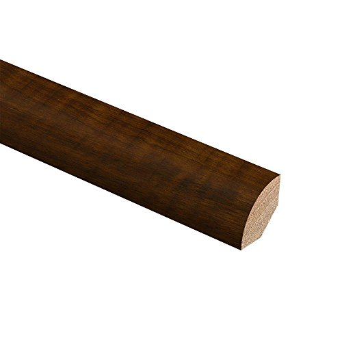 Black Walnut 3/4 in. Thick x 3/4 in. Wide x 94 in. Length Hardwood Quarter Round Molding ()