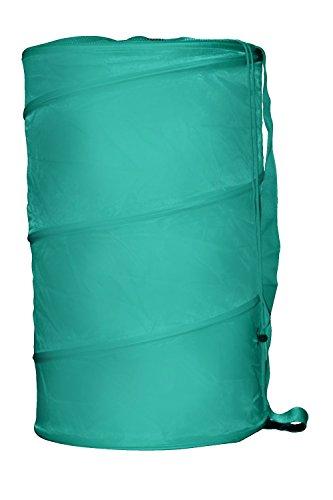 (Home Basics Sunbeam Pop-Up Barrel Hamper, Turquoise)