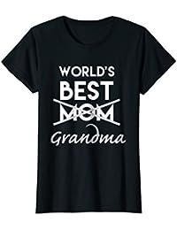 World's Best Mom Grandma Shirt, Funny Pregnancy Announcement