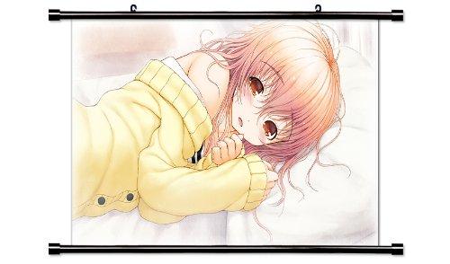 Kimi to Kanojo to Kanojo no Koi Anime Fabric Wall Scroll Poster (32 x 18) Inches. [WP]Kimi-6 (L) (Kimi No Kanojo To Kanojo No Koi)