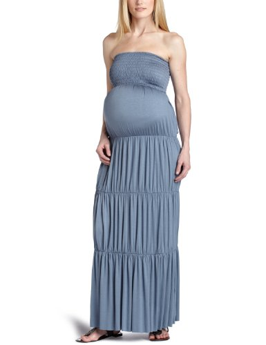 F.E.M. by t-bags Women's Maternity Smocked Tube Long for sale  Delivered anywhere in USA