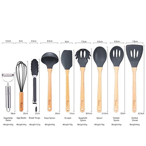 Cooking Utensils Set Vemico Kitchen Utensils Set 9 Piece