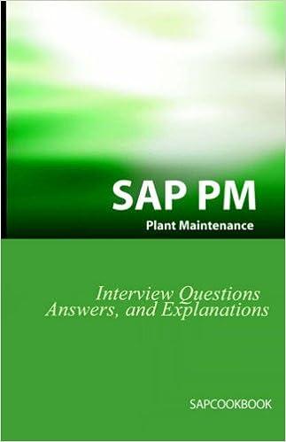 SAP PM Interview Questions