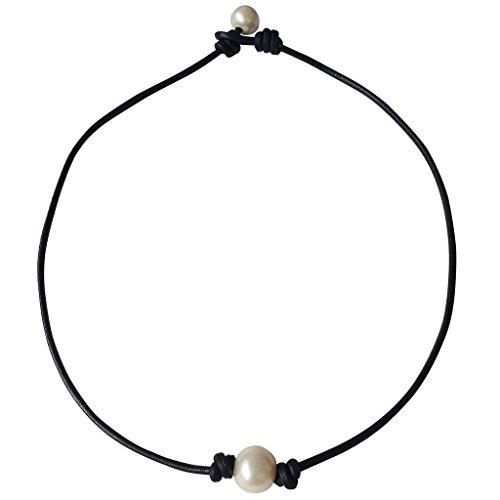 Leefi Freshwater Necklace Handmade Adjustable