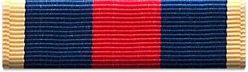 Navy Ribbon Bar - Slide-on Ribbon with Mounting bar: NAVY RECRUIT TRAINING SERVICE