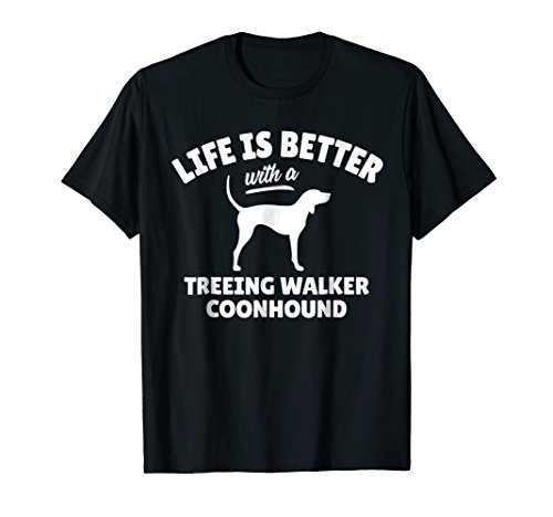 Treeing Walker Coonhound Dog Breed T-Shirt Dog Owner - Coonhound Breed Dog