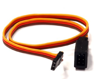 Integy RC Model Hop-ups C24425 RX-JR Type Y-Extension 300mm 22AWG Servo Wire w/ Single Block (300 Mm Single)