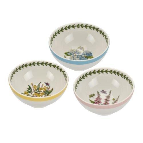Portmeirion BG Terrace Dip Dishes, - Portmeirion Garden Botanic Chip