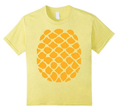 Cheap Easy Halloween Costumes Ideas (Kids Pineapple Costume T-Shirt - Easy Cheap Halloween Costume 8 Lemon)