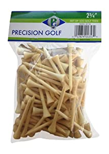 Precision Golf Golf Tees, 2-3/4-Inch (100 Count) from Precision Golf