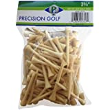 Precision Golf 2-3/4 Inch Deluxe Golf Tees - 100 Count Bag