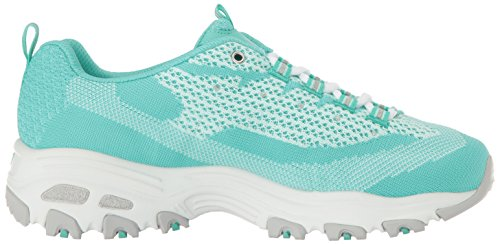 Women's Knit D'Lites Mint Skechers Fan Low Top Biggest Sneakers UCfqd