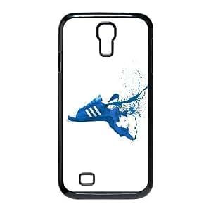 Adidas Blue Shoes Sneakers Logo Art plastic funda Samsung Galaxy S4 9500 cell phone case funda black cell phone case funda cover ALILIZHIA12850