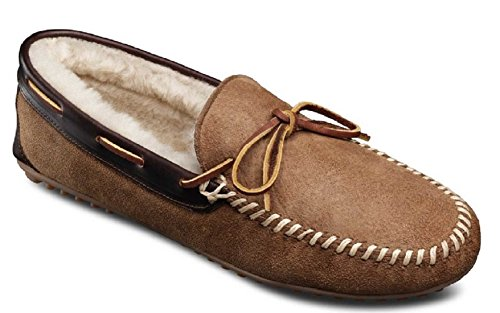 Allen Edmonds Men's Sandman Shearling Slippers Loafers, Natural 12 E by Allen Edmonds