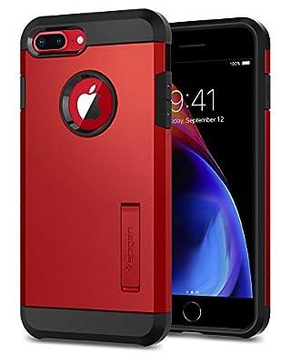 Spigen Tough Armor [2nd Generation] iPhone 8 Plus Case/iPhone 7 Plus Case with Kickstand Air Cushion Technology for Apple iPhone 8 Plus (2017) / iPhone 7 Plus (2016)