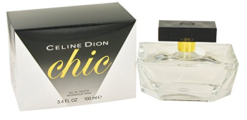 - Celine Dion Chic by Celine Dion for women Eau De Toilette Spray, 3.4-Ounce