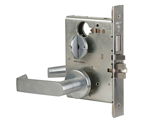(Schlage L9453P 06A 626 C123 Keyway Series L Grade 1 Mortise Lock, Entrance Function, C123 Keyway, 06A Design, Satin Chrome Finish)