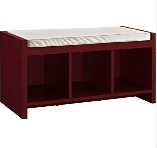 Furniture Storage Bench Wood Shoes With Cushions For Entryway Bedroom Living Room Bathroom Porch Garage Indoor Chair Shoe Premium Inside Red Upholstered Benches Accent Multi All Seasons Bed Bath Cubby
