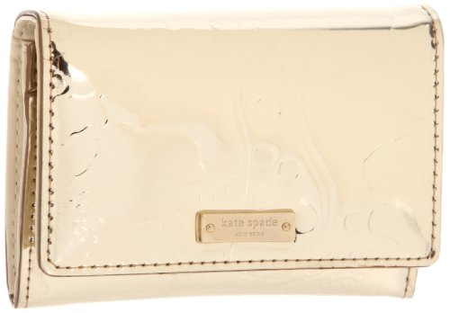 UPC 098689437316, Kate Spade New York Spotted Floral-Darla Wallet,Gold,One Size