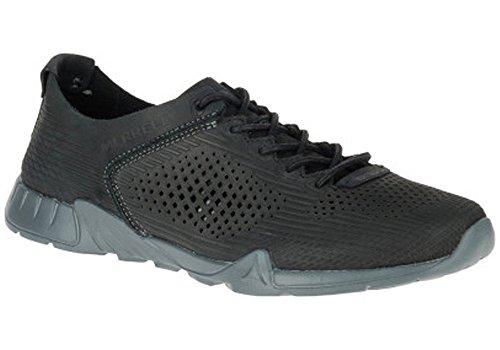 Merrell Versent Leather Perf Zapatillas negro