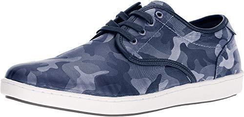 Steve Madden Men's FREZNO Sneaker, Blue camo, 9.5 M US