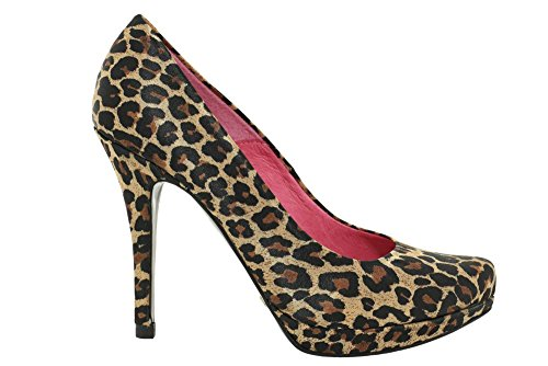 Buffalo Leoparden Pumps Damen