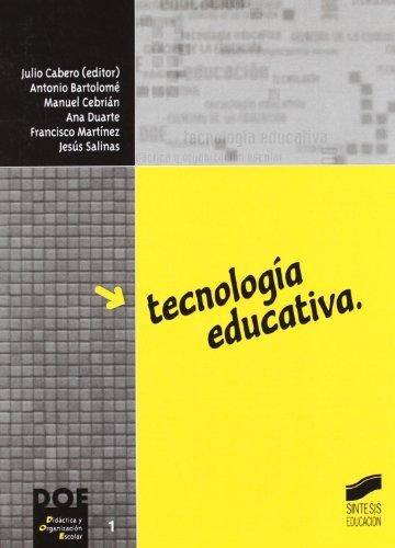Tecnología educativa (Didáctica y organización escolar nº 1)