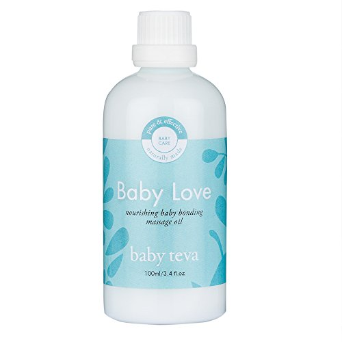 Baby Love Moisturizer - Baby Love Newborn Massage Oil | Natural Nourishing Blend with Lavender and Calendula, by Baby Teva