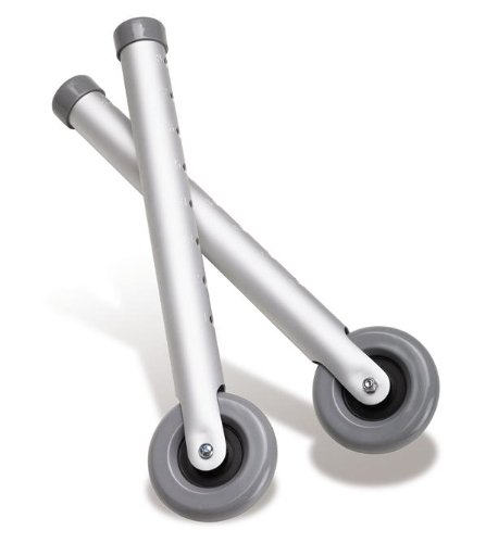 Medline Walker Front Wheel Attachment