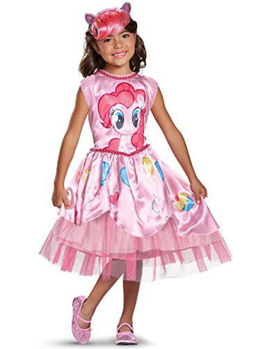 Pinkie Pie Movie Classic Costume, Pink, Medium