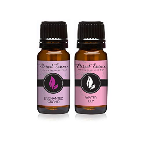 Pair (2) - Enchanted Orchid & Water Lily - Premium Fragrance Oil Pair - 10ML ()