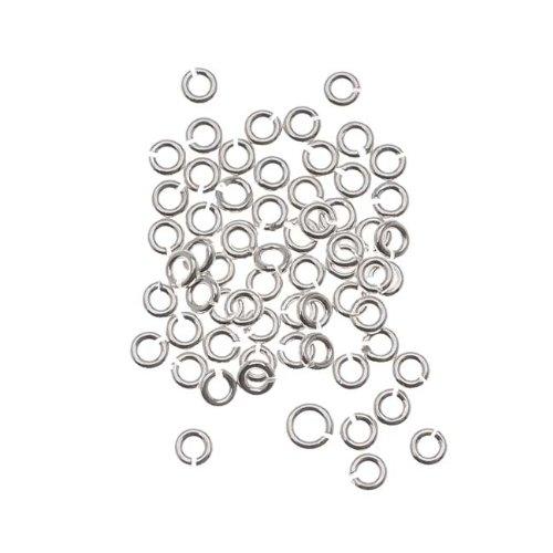 - Beadaholique SS/JR25/2.5 20-Piece Sterling Open Jump Rings, 2.5mm, 22-Gauge, Silver
