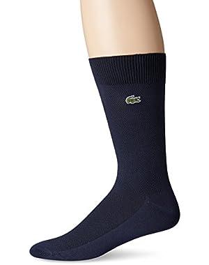 Men's Pique Crew Sock