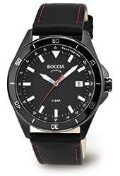 3577-04 Mens Boccia Titanium Watch with Tachymeter
