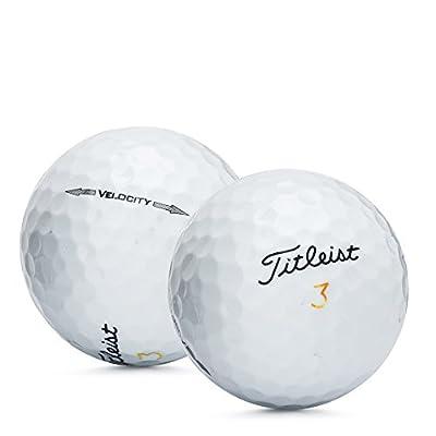 48 Titleist Velocity Golf Balls 5A Grade