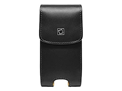 Cellet NOBLVS5 Noble Vertical Premium Leather Case with Heavy Duty Fixed Swivel Clip for Samsung S5/S6/S7, LG G2, (No Case On) & iPhone 76/6s (With Slim Case - Iphone Vertical Case