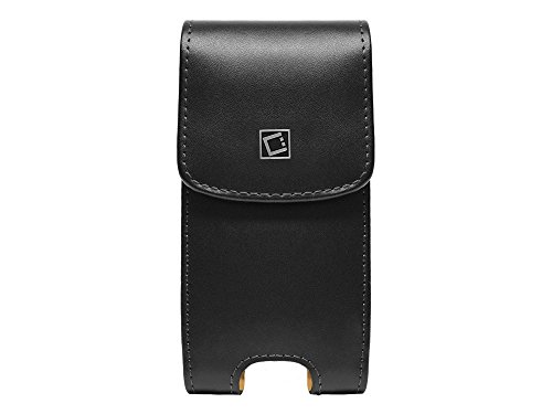 Cellet NOBLVS5 Noble Vertical Premium Leather Case with Heavy Duty Fixed Swivel Clip for Samsung S5/S6/S7, LG G2, (No Case On) & iPhone 76/6s (With Slim Case ()