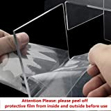 obmwang 3 Pack Large Clear Acrylic Riser