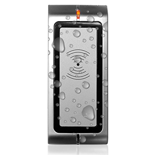 UHPPOTE Metal Structure IP65 Wiegand 26 bit 125KHz RFID Reader for HID & EM Card