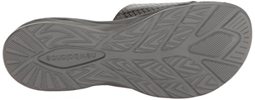 New Balance Slide Black Response Men's Sandal Grey w4r7qw