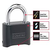 Master Lock 178D Set Your Own Combination Lock, 1