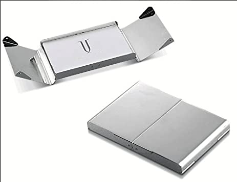 Amazon visol v901b ankora silver plated business card case visol v901b ankora silver plated business card case colourmoves Choice Image