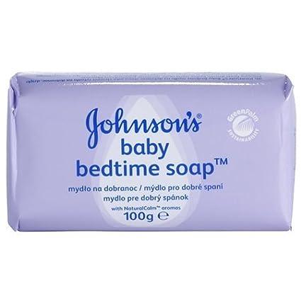 Johnson's Baby Bedtime Solid Soap w/ Naturalcalm (European) - proven to help baby sleep better - 8 Bars Johnson & Johnson