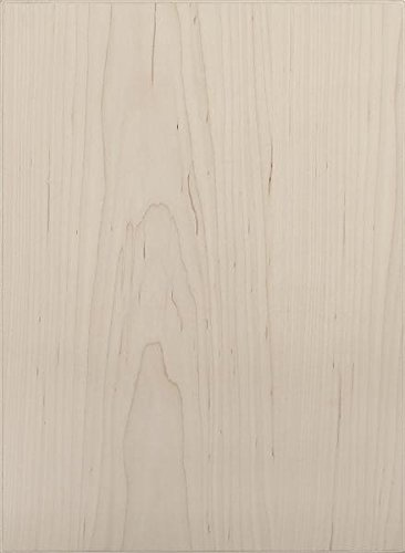 Cabinet Doors 'N' More 16'' X 28'' Unfinished Maple Veneer Slab Kitchen Cabinet Door by Cabinet Doors 'N' More