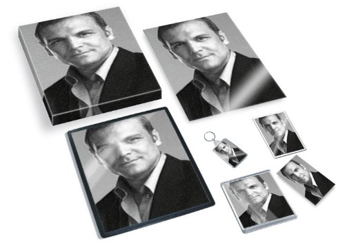 DAVID CUBITT - Original Art Gift Set #js002 (Includes - A4 Canvas - A4 Print - Coaster - Fridge Magnet - Keyring - Mouse Mat - Sketch Card)