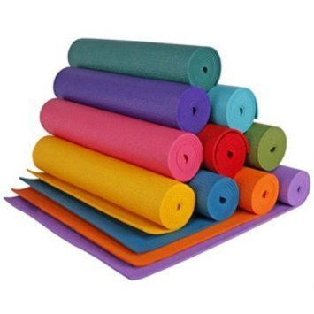 6 Mm Thick Anti Skid Yoga Mat Washable Fitness Exercise Imported Non-slip Surface