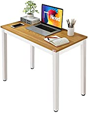 Need Small Computer Desk Sturdy and Heavy Duty Writing Desk for Small Spaces Home Office Computer Workstation Small Desk Study Table Laptop Desk